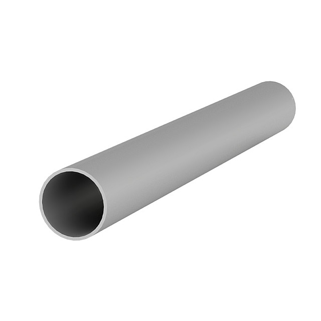 ALUMINUM ROUND TUBE D.22x1mm ANODISED